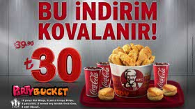 Party Bucket Menü Şimdi İndirimde