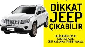 Şahin Sucuklarından Dikkat Jeep Çıkabilir