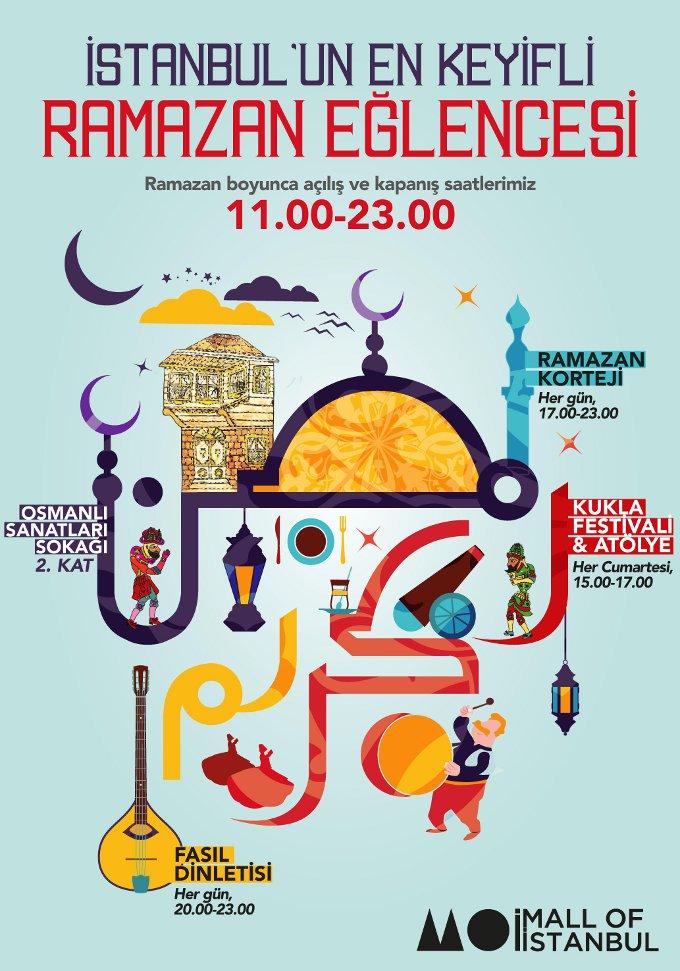 Ramazan'a Özel Eğlenceler Mall Of İstanbul'da
