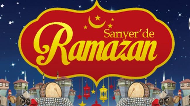 Sarıyer'de Ramazan Bir Başkadır