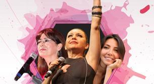 'Kadınlar Yaşasın Diye' Feryal Öney & İlkay Akkaya & Meltem Yılmazkaya