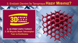 3D Print Expo Turkey 2015 12-14 Haziran