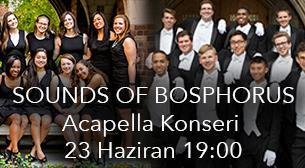 Boğaz'da A Capella Konseri