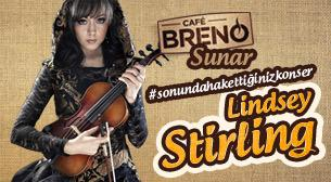 Cafe Breno Sunar: Lindsey Stirling