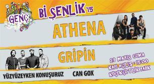 Genç Bi Şenlik'15: Athena - Gripin - Can Gox - Yüzyüzeyken Konuşuruz
