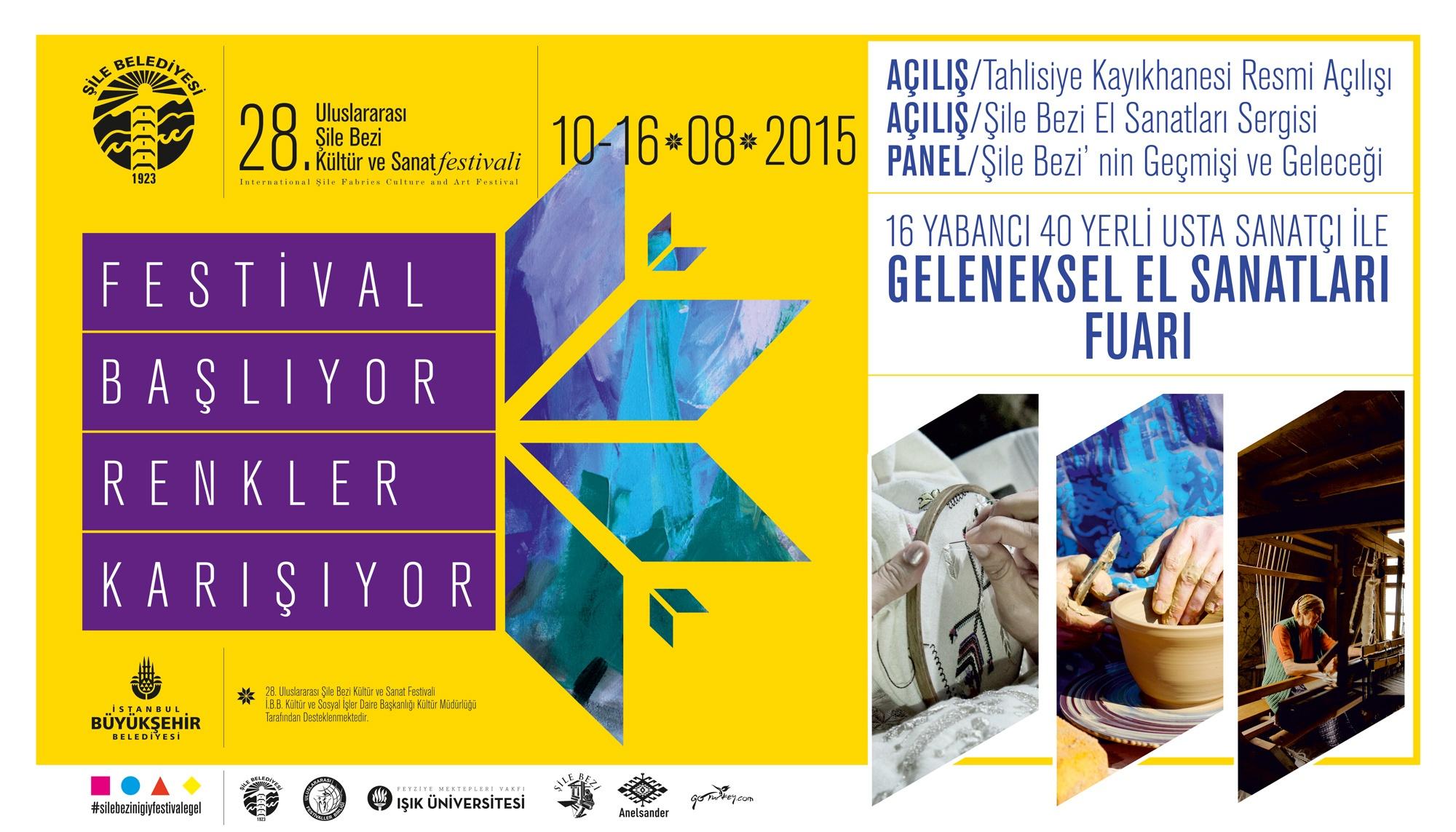 28.Uluslararası Şile Bezi Kültür ve Sanat Festivali