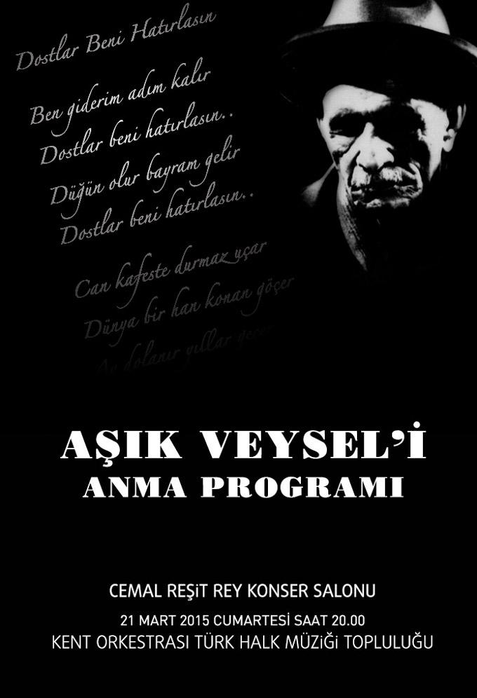 Âşık Veysel'i Anma Programı