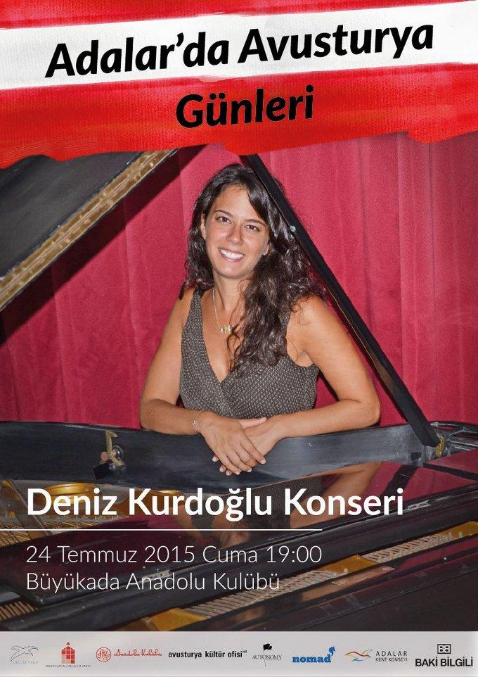 Adalar'da Avusturya Günleri: Deniz Kurdoğlu Konseri
