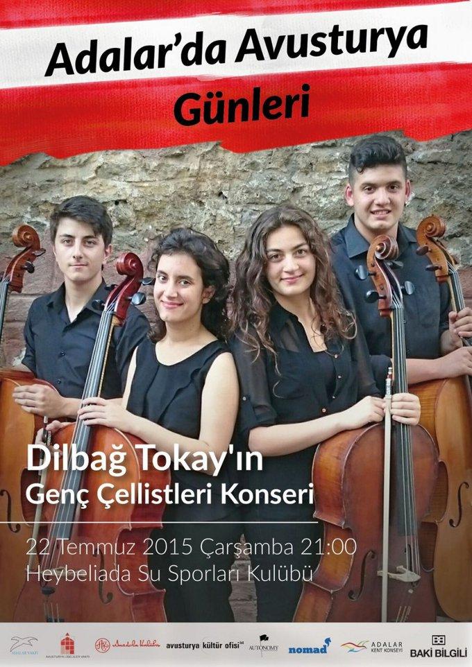 Adalar'da Avusturya Günleri: Dilbağ Tokay Yaylılar Konseri