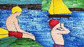 İstinyepark, Güzel Sanatlar Parkı'nda Çocukları Seurat'la Buluşturuyor.