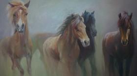 Albert Pesah'ın 'Atlarla Dans' İsimli Sergisi