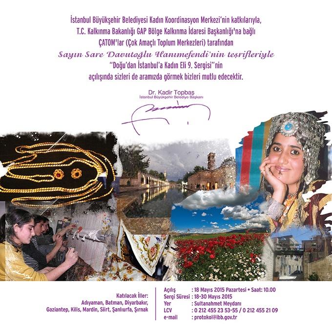 Doğu'dan İstanbul'a Kadın Eli 9. Sergisi