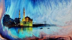 Ebrû Sanatçısı İlker Selimler'in 'Arayış' Ebrû Sergisi