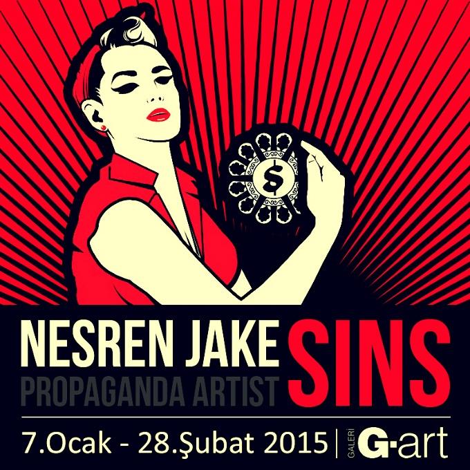 Nesren Jake - SINS / GÜNAHLAR sergisi