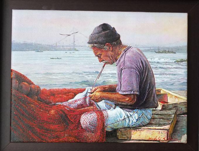 Mustafa Sekban - Yel Uçurur Ağları Resim Sergisi
