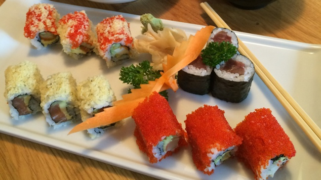 Miyabi Sushi Bento Öğlen Menüleri