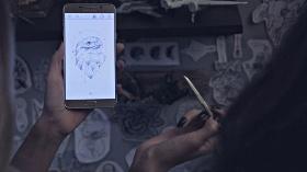 Samsung Galaxy Note5, S Pen İle Sanatçılara İlham Veriyor