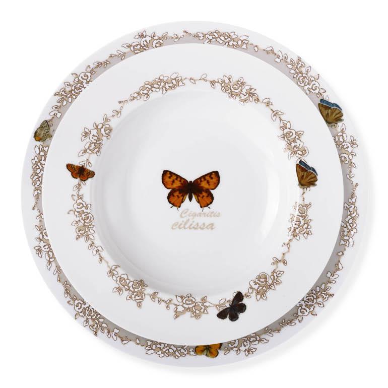 Kaybolan Çiçekler ve Kelebekler Bernardo Tasarımlarında