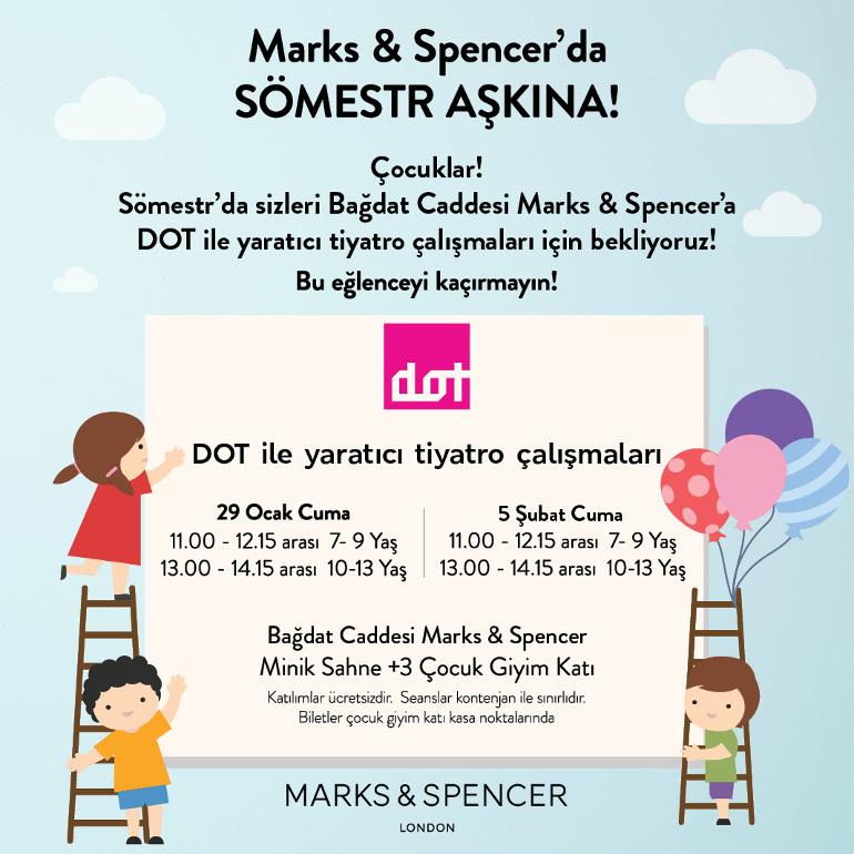 Marks & Spencer İle Sömestr Aşkına!