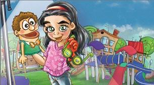 Mıknatıs Çocuk -Uygur Çocuk Tiyatr