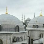 Ayasofya'dan Sultanahmet Camii - © Kenan Baştürk