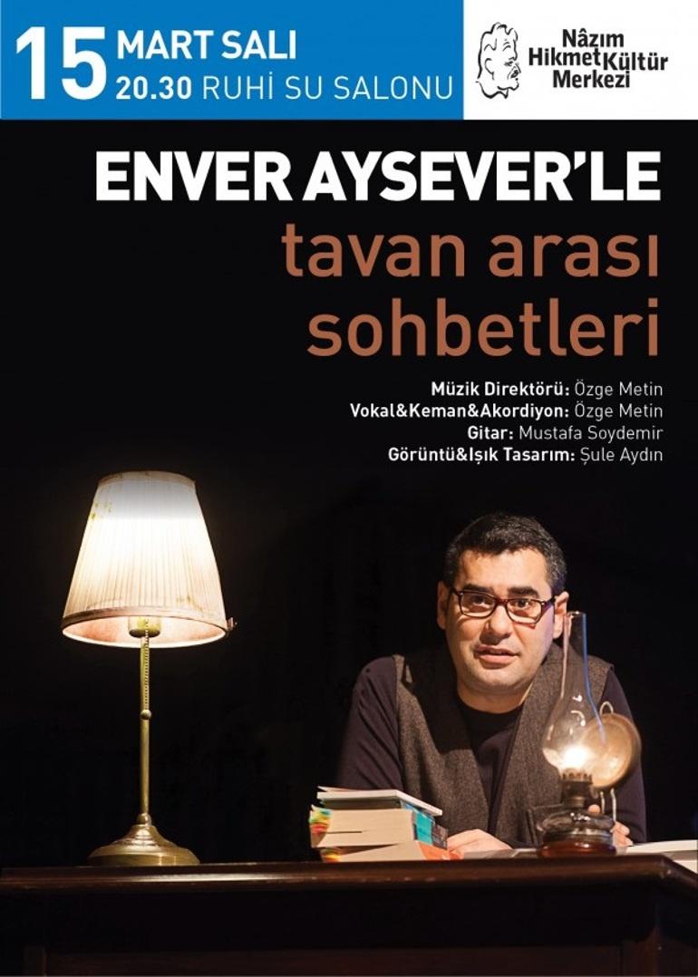 Enver Aysever'le Tavan Arası Sohbetleri