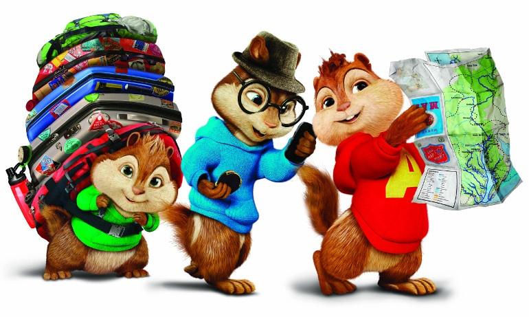 Çocuklara Özel Alvin ve Sincaplar Sürprizi !