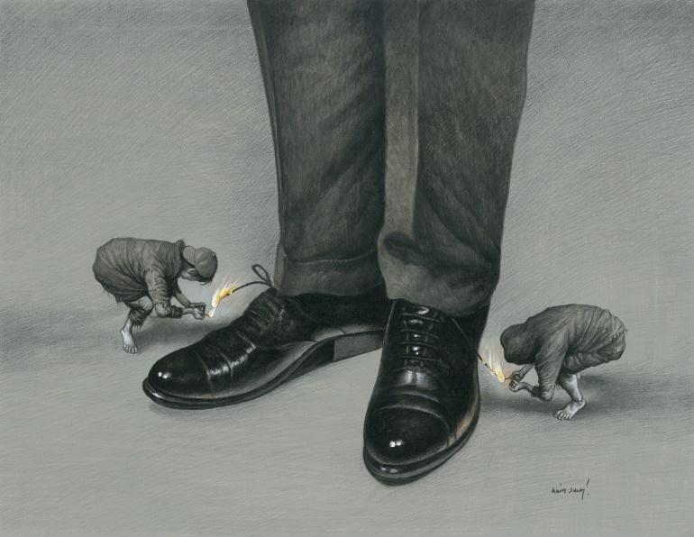 32. Aydın Doğan Uluslararası Karikatür Yarışması Sergisi