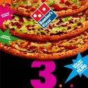 Domino's Pizza'dan 3 Yeni Lezzet