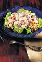 Waldorf Salatası Mezeler Salatalar Istanbulnettr Istanbul
