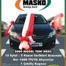 MASKO'dan bir talihliye Toyota Corolla hediye
