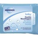 Bebeğinizin hassas cildi için en iyisi Sanosan Losyonlu Temizleme Mendilleri…