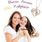 Altın Kalpli Annenizin Anneler Günü Hediyesi; Favori'den