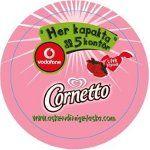 Cornetto İle Aş Kendini, Vodafone İle Ara Aşkını!