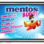 Çılgın ve Eğlenceli Masa Arkadaşın Mentos Buddy Şimdi Yepyeni IPhone Oyunu İle Hep Yanında