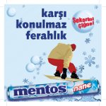 Mentos'la Eğlence ve Mutluluk Zirvede