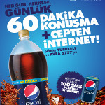 Pepsi'yle Hem Konuşma Hem İnternet Keyfi Cepte