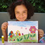 Schlotzsky`s Bahçesinde Çocuklara El İşi, Hobi Atölyesi