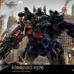 Transformers 3 ve Lenovo Güçlerini Birleştirdi!