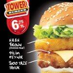 KFC'den Yepyeni Lezzet Kulesi: Tower Burger