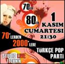 70`lerden 2000`lere Türkçe Pop Party