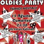 70`s 80`s 90`s Oldies Party & Türkçe Nostalji