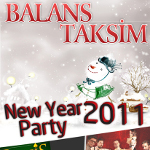 Balans Brau Taksim New Year Party 2011