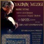 """Mehmet Emin Bitmez İstanbul Sazkar Topluluğu ile """"Yazının Müziği"""""""