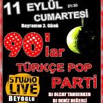 90`lar Türkçe Pop Parti (Tarkan Özel)