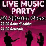 Live Music Party: Raba Di Babba & Retrobüs