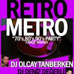 Retrometro 70`s - 80`s - 90`s Party