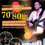 Saro ile 70, 80`ler Özel Nostalji Pop ve Greek Müzik