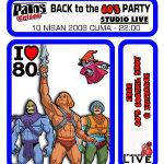 Patos Critos Back to the 80s Party