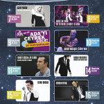 Ada`yı Çeyrek Geçe 25. Yıl - TNT Yaz Konserleri 2011